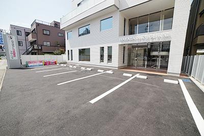 駐車場(南側)